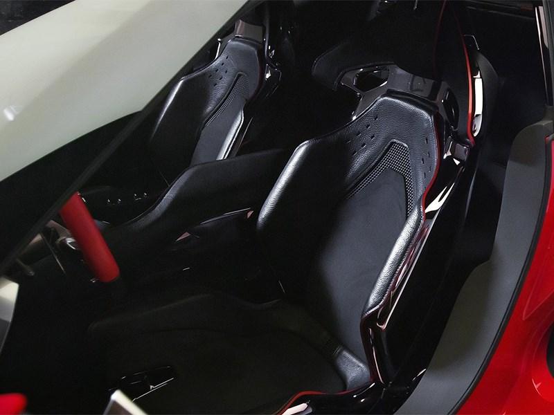 Toyota FT-1 concept 2014 кресла