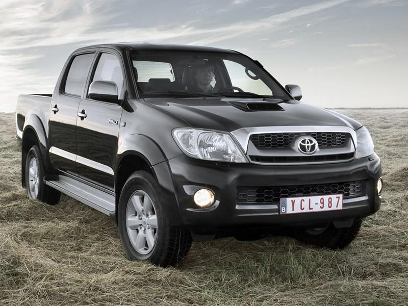 Рабочий инструмент (Mitsubishi L200, Ford Ranger (Mazda B серии), Toyota HiLux) HiLux поколение VII