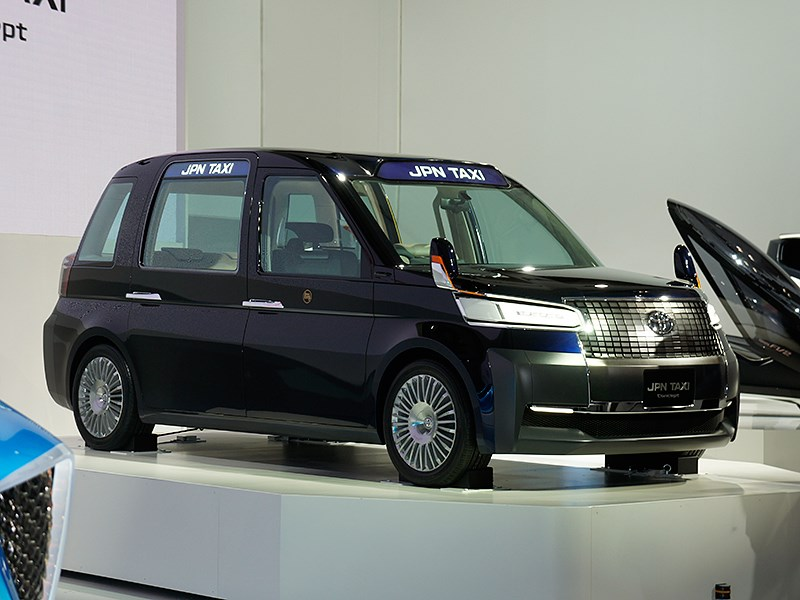 Toyota JPN Taxi concept 2013
