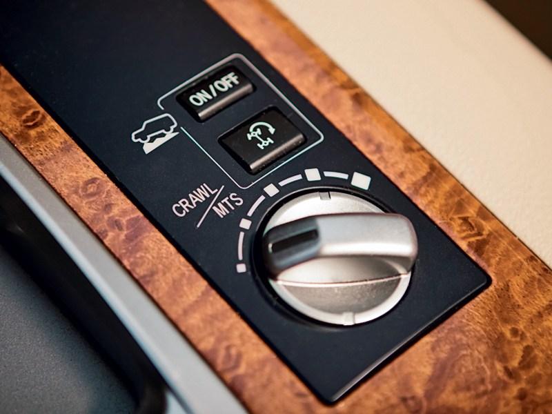 Toyota Land Cruiser 2012 управление трансмиссией