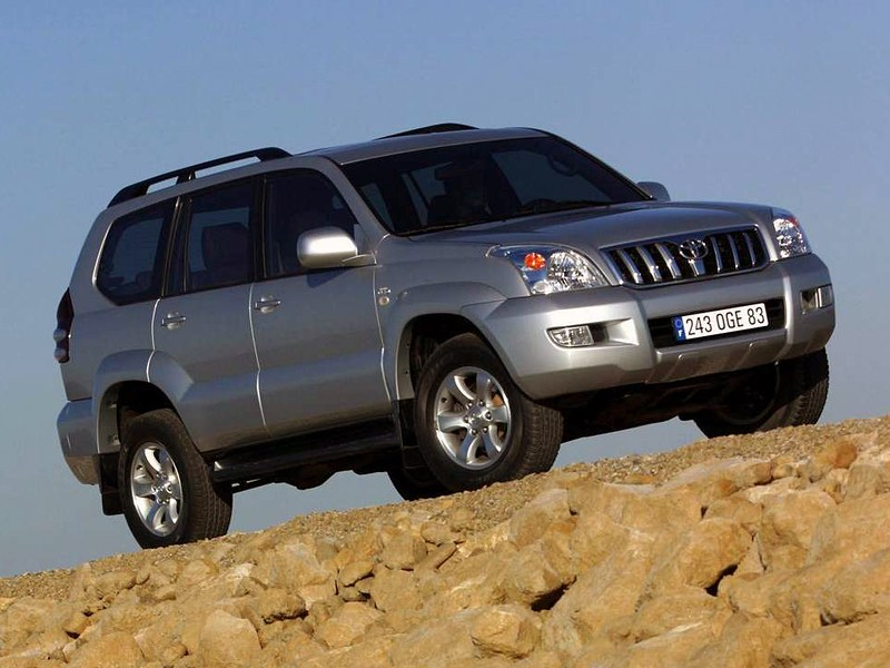 Toyota, Land Cruiser Prado