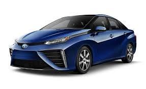 Новый Toyota Mirai может проехать 312 миль на водородном топливе