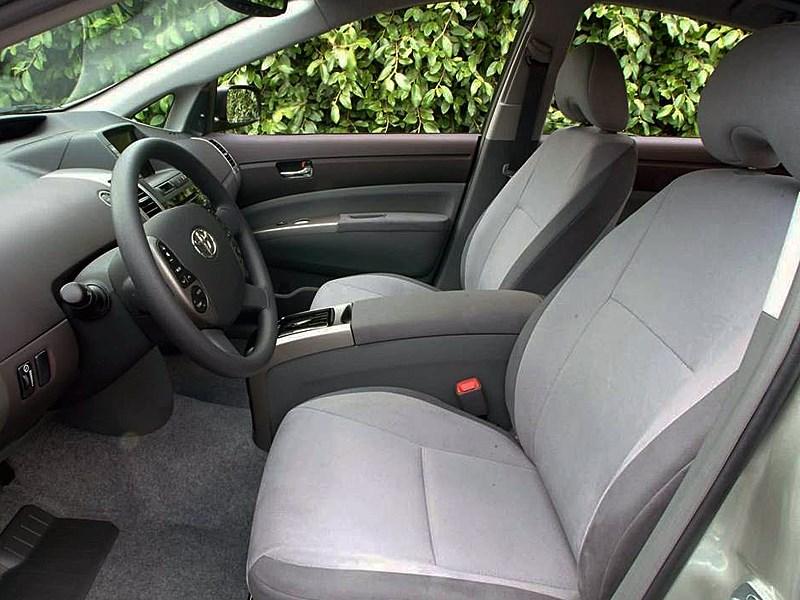Toyota Prius 2006 второе поколение автомобиля передние сиденья