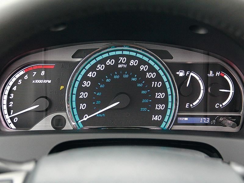 Toyota Venza 2013 приборная панель