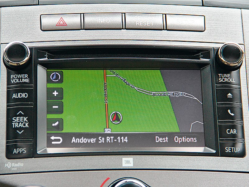 Toyota Venza 2013 монитор компьютера