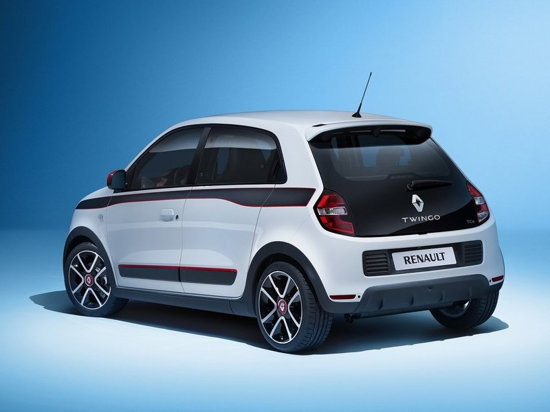Renault Twingo 2014 вид сзади