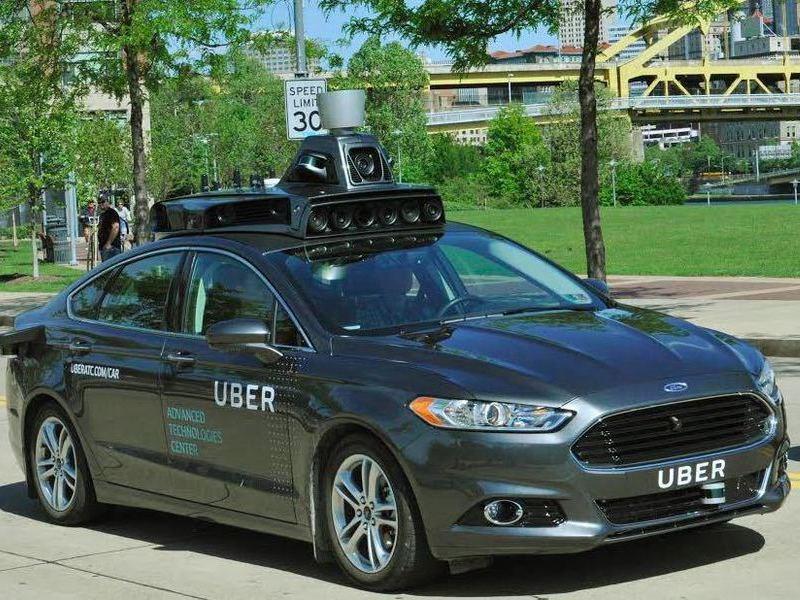 Uber начал тестирование собственного беспилотного автомобиля