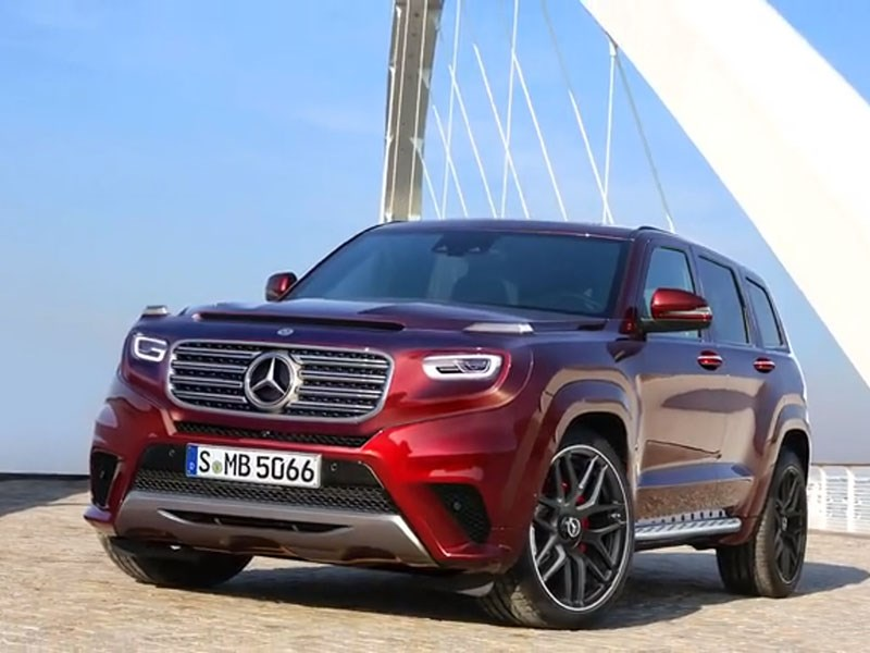 В Mercedes-Benz задумались о конкуренте Range Rover Sport