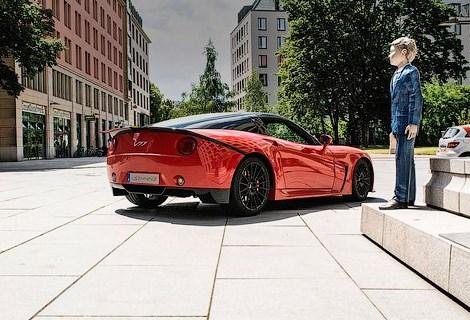 Новый немецкий производитель спорткаров VSpeed Automotive представил свою первую модель