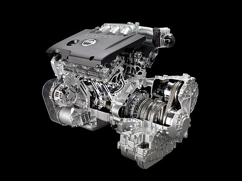 Nissan Murano 2010 двигатель VQ V6 3_5
