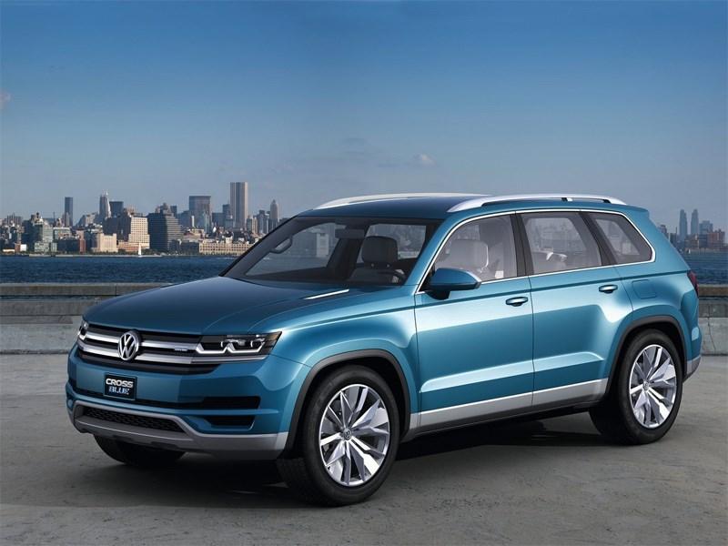 Volkswagen CrossBlue 2013 концепт