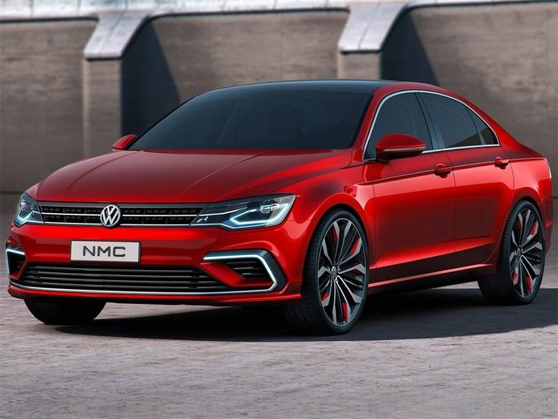 Volkswagen NMC Concept 2014 вид спереди сбоку