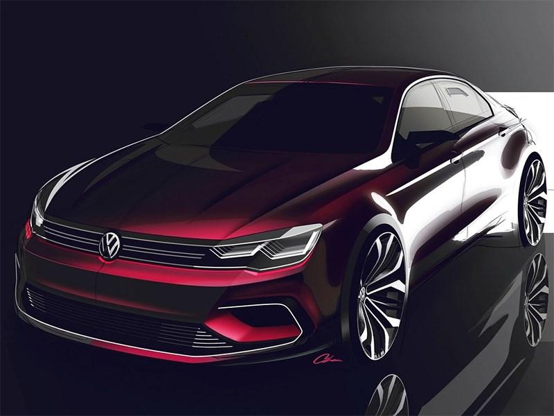 Volkswagen NMC Concept 2014 эскиз