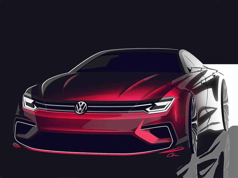 Volkswagen NMC Concept 2014 эскиз фото 2