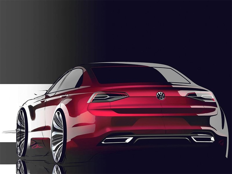 Volkswagen NMC Concept 2014 эскиз фото 3