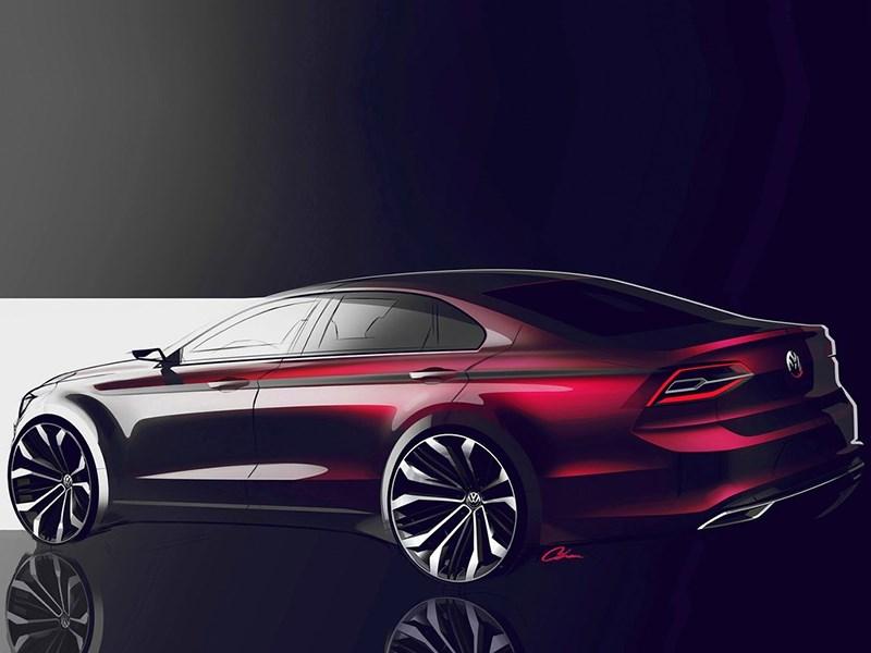 Volkswagen NMC Concept 2014 эскиз фото 4