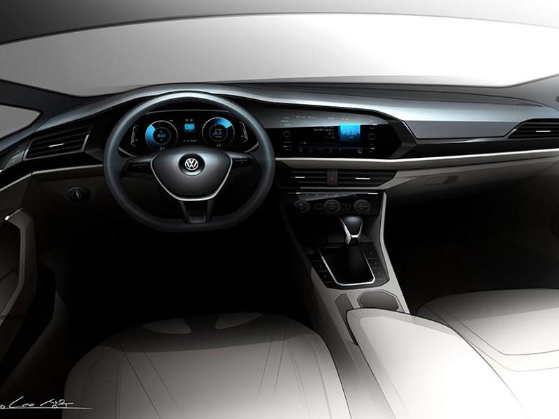 Volkswagen показал салон новой Jetta
