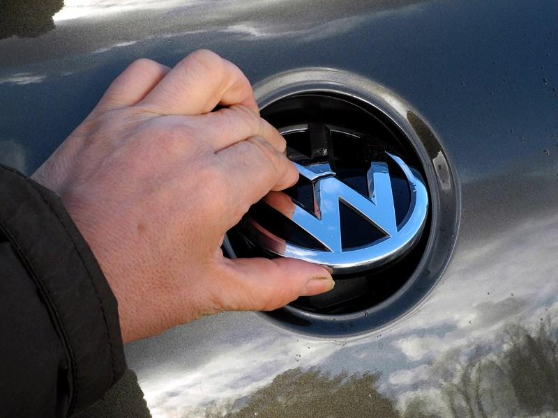 Volkswagen Passat CC 2013 камера заднего вида