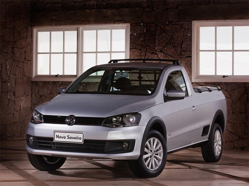 Новый Volkswagen Saveiro - Volkswagen Saveiro 2013 вид спереди
