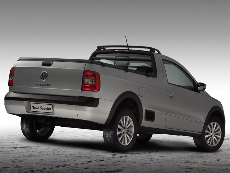 Volkswagen Saveiro 2013 вид сзади