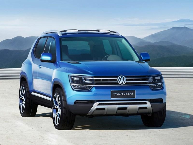Volkswagen Taigun Concept 2012 вид спереди