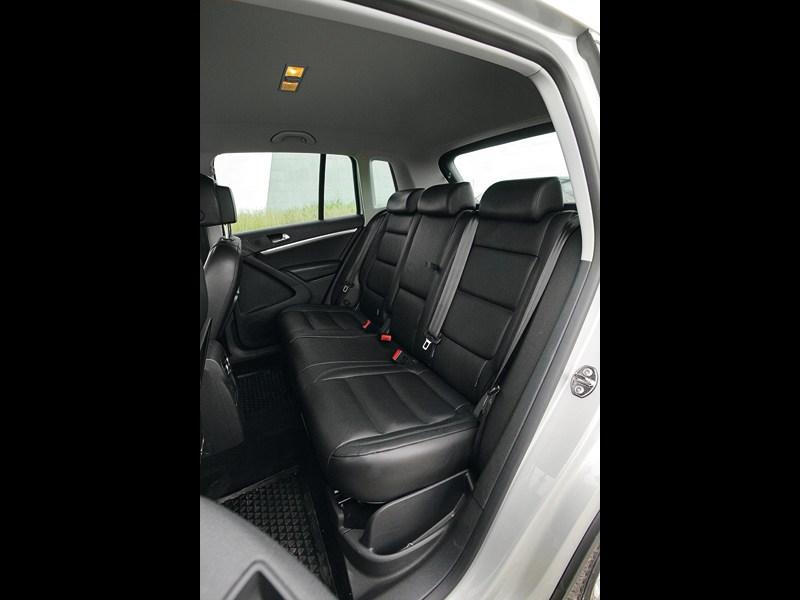 Volkswagen Tiguan 2011 задний диван