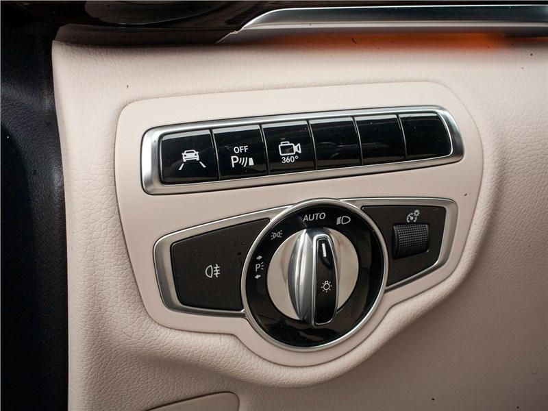 Mercedes-Benz V-Klasse 2014 управление светом