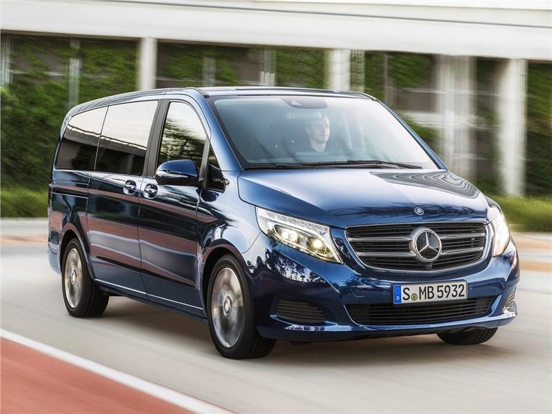 Mercedes-Benz V-Class - mercedes-benz v-klasse 2014 про проезд передавайте!