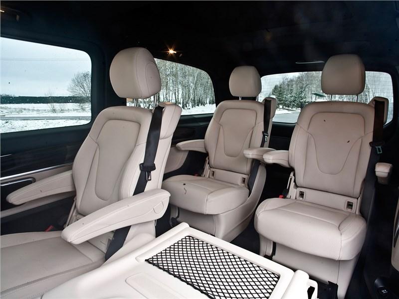 Mercedes-Benz V-Klasse 2014 кресла