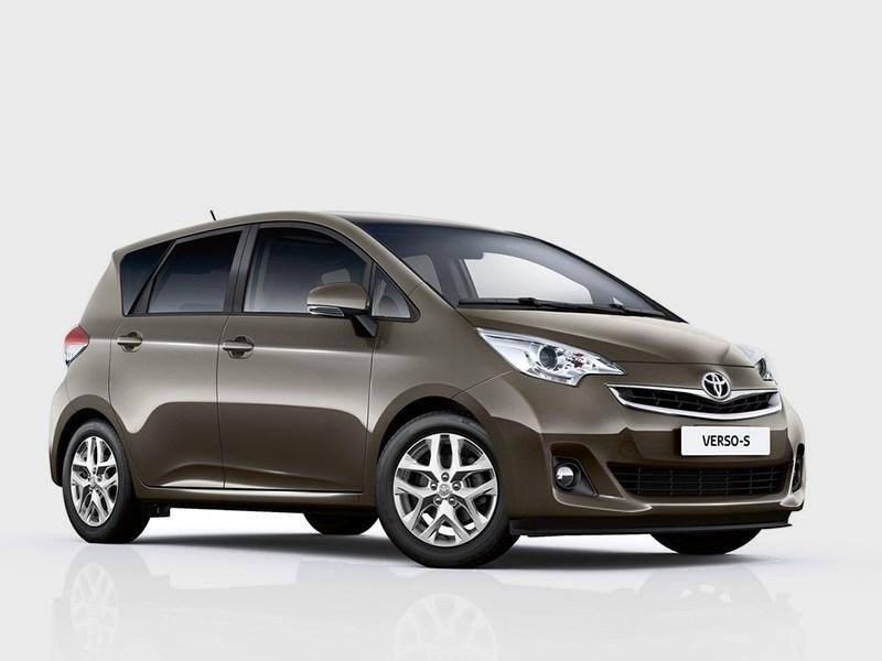 Toyota Verso-S 2015 Только спокойствие