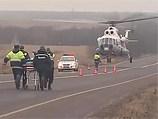 В Подмосковье жертв ДТП буду эвакуировать на вертолетах