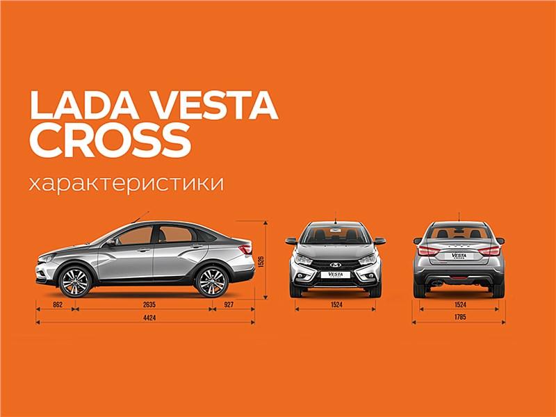 Lada Vesta Cross 2018