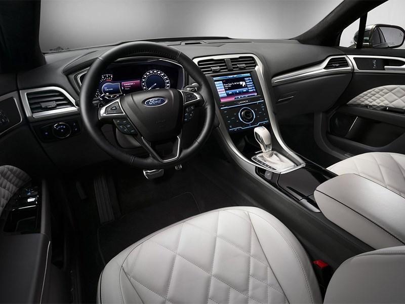 Ford Vignale conceprt 2013 водительское место
