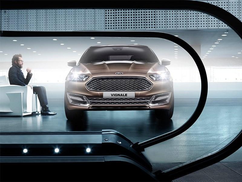 Ford Vignale conceprt 2013 вид спереди