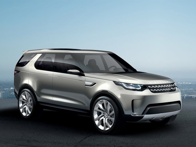 Новый Land Rover Discovery - Land Rover Discovery Vision 2014 вид спереди