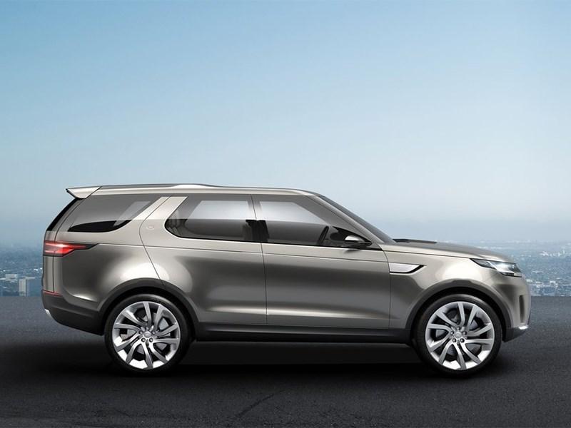 Land Rover Discovery Vision 2014 вид сбоку