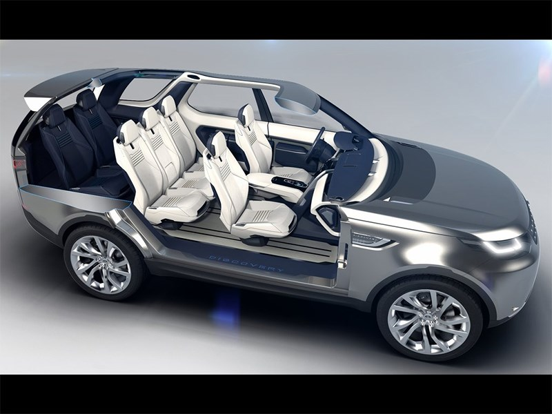 Land Rover Discovery Vision 2014 салон