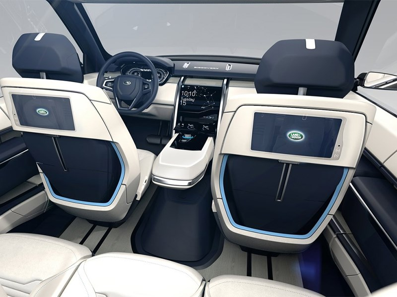 Land Rover Discovery Vision 2014 салон фото 2