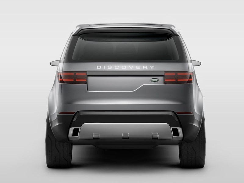Land Rover Discovery Vision 2014 вид сзади