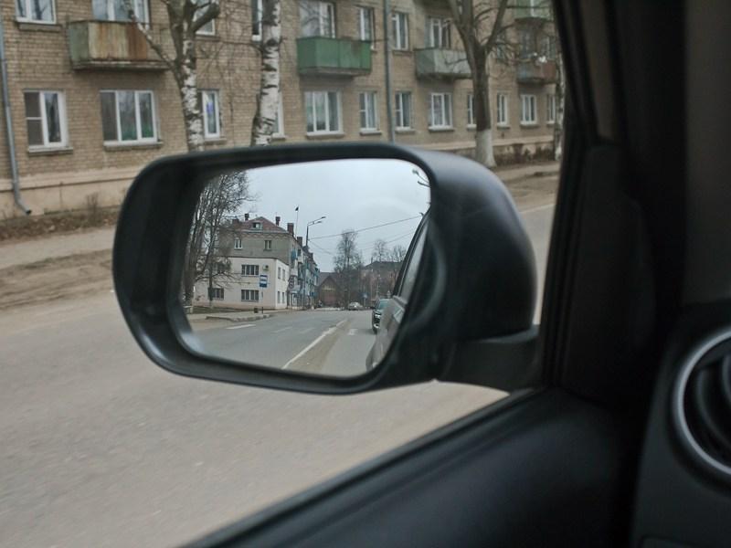 Suzuki Grand Vitara 2012 боковое зеркало