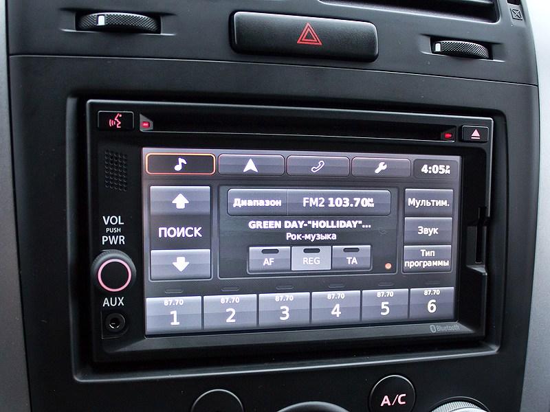Suzuki Grand Vitara 2012 мультимедийная система