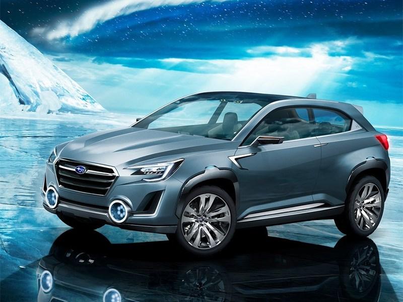 Subaru VIZIV-2 Concept 2014 вид спереди