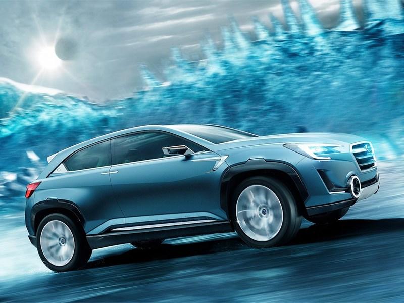 Subaru VIZIV-2 Concept 2014 вид спереди сбоку