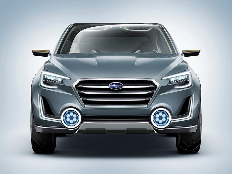 Subaru VIZIV-2 Concept 2014 вид спереди фронт