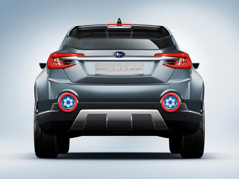 Subaru VIZIV-2 Concept 2014 вид сзади фгото 2