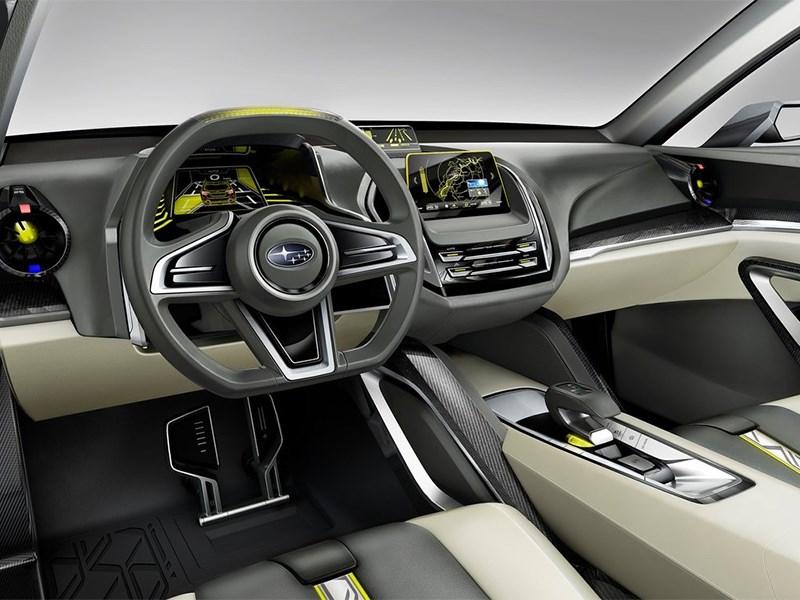 Subaru VIZIV-2 Concept 2014 салон