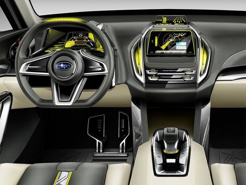 Subaru VIZIV-2 Concept 2014 водительское место