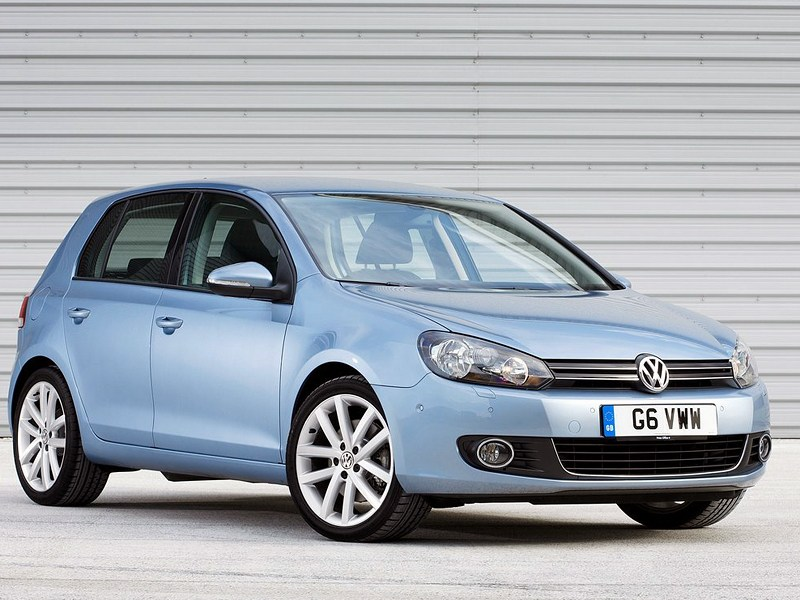 Немецкий гольф-класс на вторичном рынке (VW Golf IV, Audi A3, Ford Focus, Opel Astra, Mercedes-Benz A-Klasse) Golf поколение VI