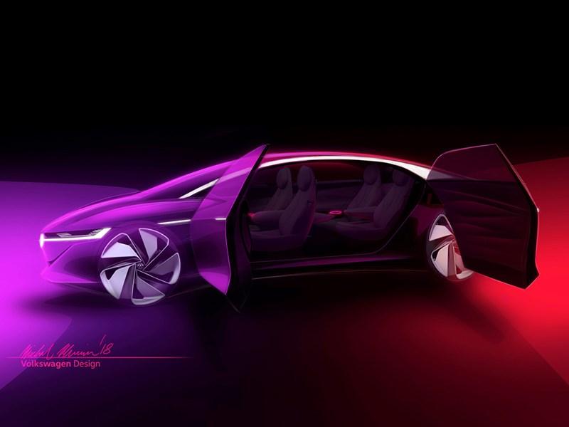 VW покажет вЖеневе концептуальную модель I. D. Vizzion
