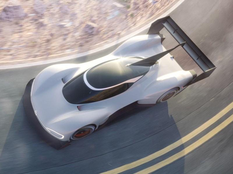 Volkswagen представил электрический спорткар для подъема на холм